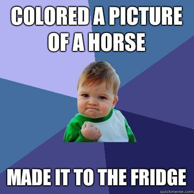 Coloured Horse