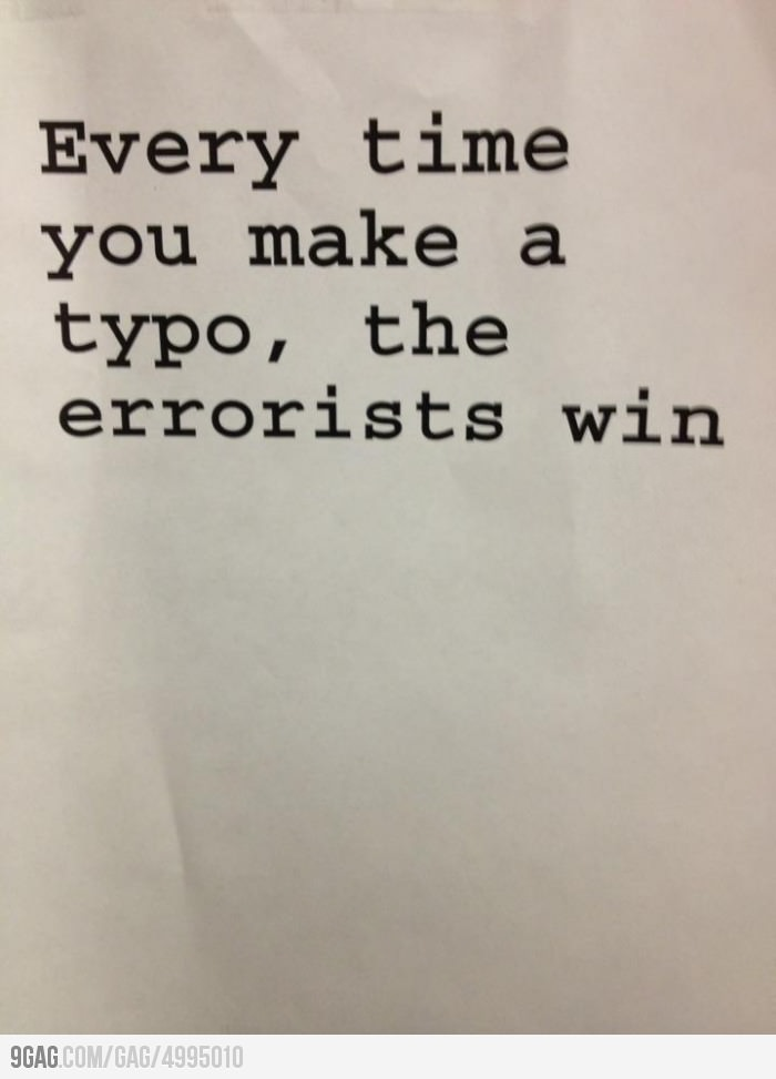the errorists